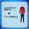 Sweat Col Zippé Spido Max + Fuseau Spido Max